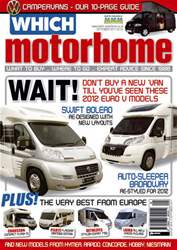 Which Motorhome Sept 2011 issue Which Motorhome Sept 2011