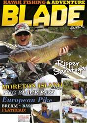 Blade Kayak Fishing Journal Magazine Cover