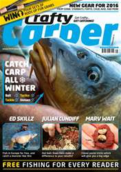Crafty Carper January 2016 issue Crafty Carper January 2016