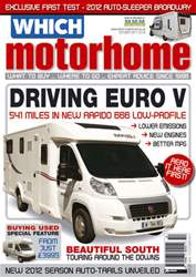 Which Motorhome Oct 2011 issue Which Motorhome Oct 2011
