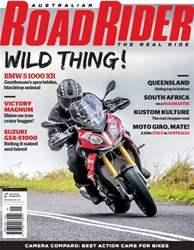 Australian Road Rider Magazine Cover