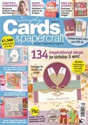 Simply Cards & Papercraft Magazine Cover