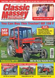 No. 60 You can buy this tractor! MF 158 F issue No. 60 You can buy this tractor! MF 158 F