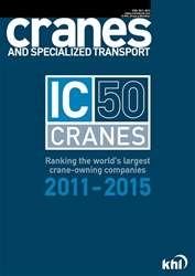 IC 50 Cranes Toplist 2011-2015 issue IC 50 Cranes Toplist 2011-2015