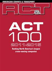 ACT 100 Toplist 2011-2015 issue ACT 100 Toplist 2011-2015