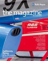 Rolls-Royce Magazine Magazine Cover