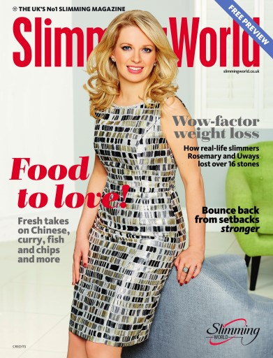 Slimming World Magazine New Year 2016 Free Sample