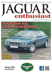 Vol. 32 No. 1 Rare 6 Cylinder E-Type Series 3s issue Vol. 32 No. 1 Rare 6 Cylinder E-Type Series 3s