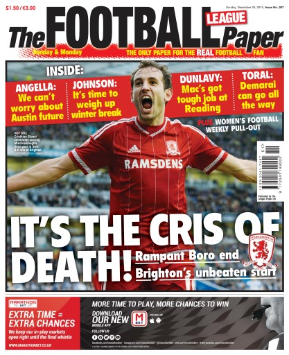 The Football League Paper Digital Issue
