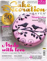 Cake Decoration Heaven Spring 2016 issue Cake Decoration Heaven Spring 2016
