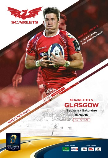Scarlets Matchday Programme Preview