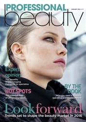 Professional Beauty January 2016 issue Professional Beauty January 2016