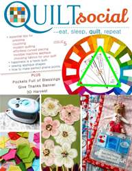 QUILTsocial Issue 5 issue QUILTsocial Issue 5