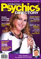 International Psychics Directory 2016 issue International Psychics Directory 2016