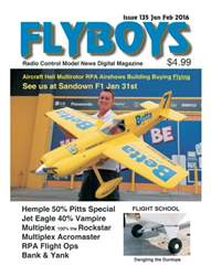 Flyboys Radio Control Model News issue Flyboys Radio Control Model News