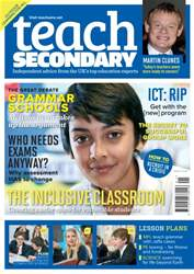 Teach Secondary Magazine Cover