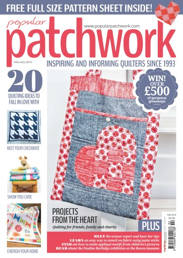 Popular Patchwork Magazine Preview