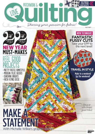 Love Patchwork & Quilting Digital Issue