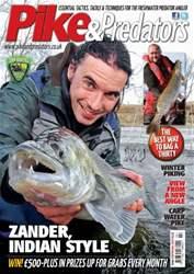 Pike & Predators Magazine Cover