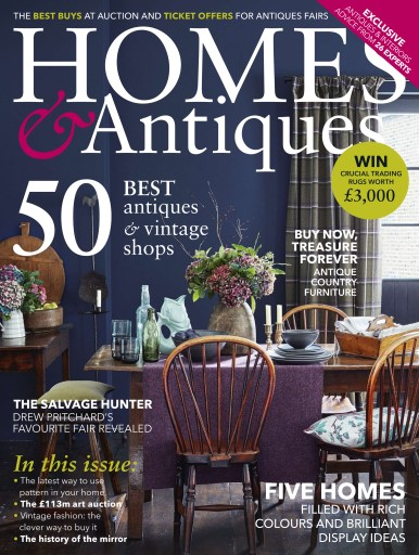 Homes & Antiques Magazine Digital Issue