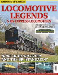 Locomotive Legends: 5. BR Express Locomotives issue Locomotive Legends: 5. BR Express Locomotives