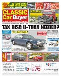 No. 314 Tax Disk U-Turn Needed? issue No. 314 Tax Disk U-Turn Needed?