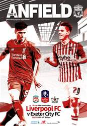 Liverpool  v Exeter FA CUP 201516 issue Liverpool  v Exeter FA CUP 201516