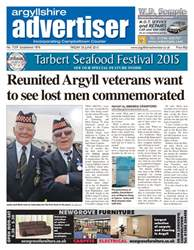 Argyllshire Advertiser Sample issue Argyllshire Advertiser Sample