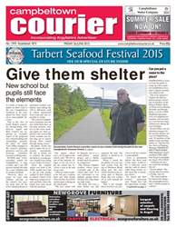 Campbeltown Courier Sample issue Campbeltown Courier Sample