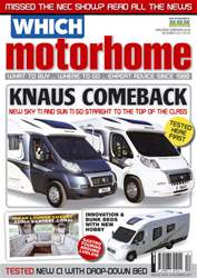 Which Motorhome Dec 2011 issue Which Motorhome Dec 2011