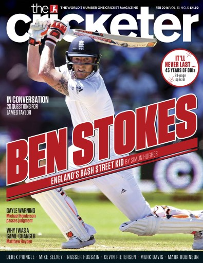The Cricketer Magazine Preview