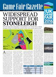 GameFair Gazette - December 2015 issue GameFair Gazette - December 2015