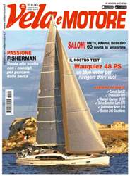 Vela e Motore Magazine Cover