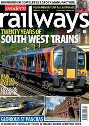 Modern Railways Magazine Cover