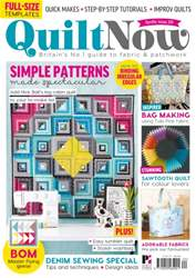 Quilt Now Magazine Cover