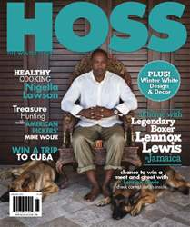 HOSS WINTER 2016 issue HOSS WINTER 2016