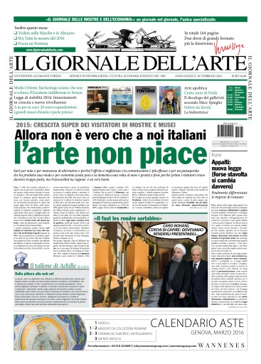 Il Giornale Dell'Arte Digital Issue