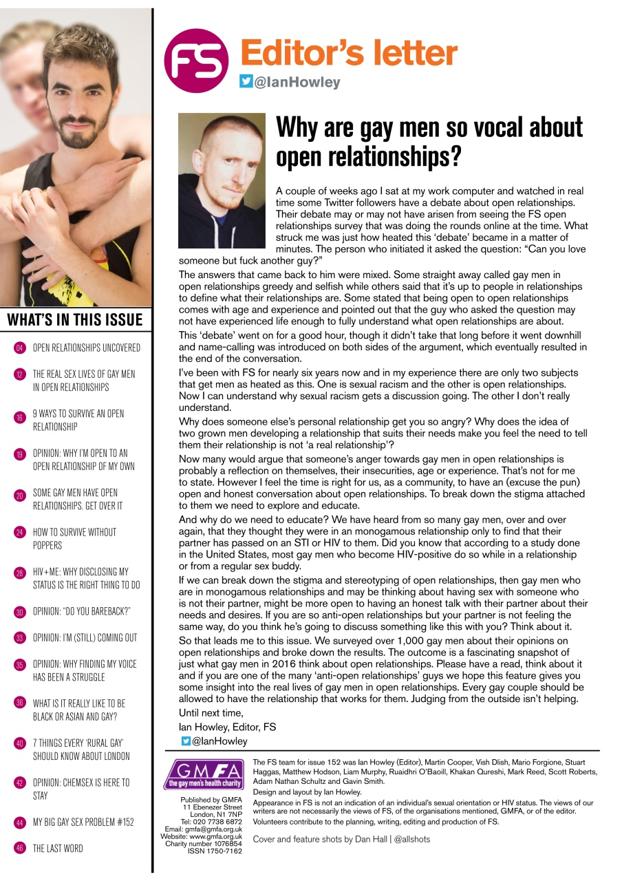 how to disclose open relationship