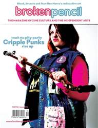 Broken Pencil Magazine Cover