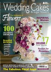 Issue 26 - Wedding Cakes & Sugar Flowers issue Issue 26 - Wedding Cakes & Sugar Flowers