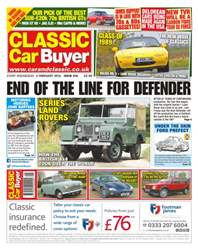 No. 316 End Of The Line For Defender issue No. 316 End Of The Line For Defender