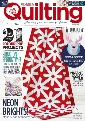 Love Patchwork & Quilting Preview