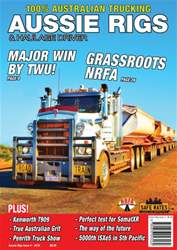 Aussie Rigs and Haulage Driver Magazine Cover