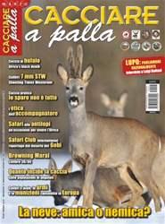 CACCIARE A PALLA MARZO 2015 issue CACCIARE A PALLA MARZO 2015