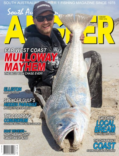 South Australian Angler (SA Angler) Preview