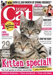 Your Cat Magazine March 2016 issue Your Cat Magazine March 2016