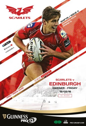 Scarlets Matchday Programme Digital Issue