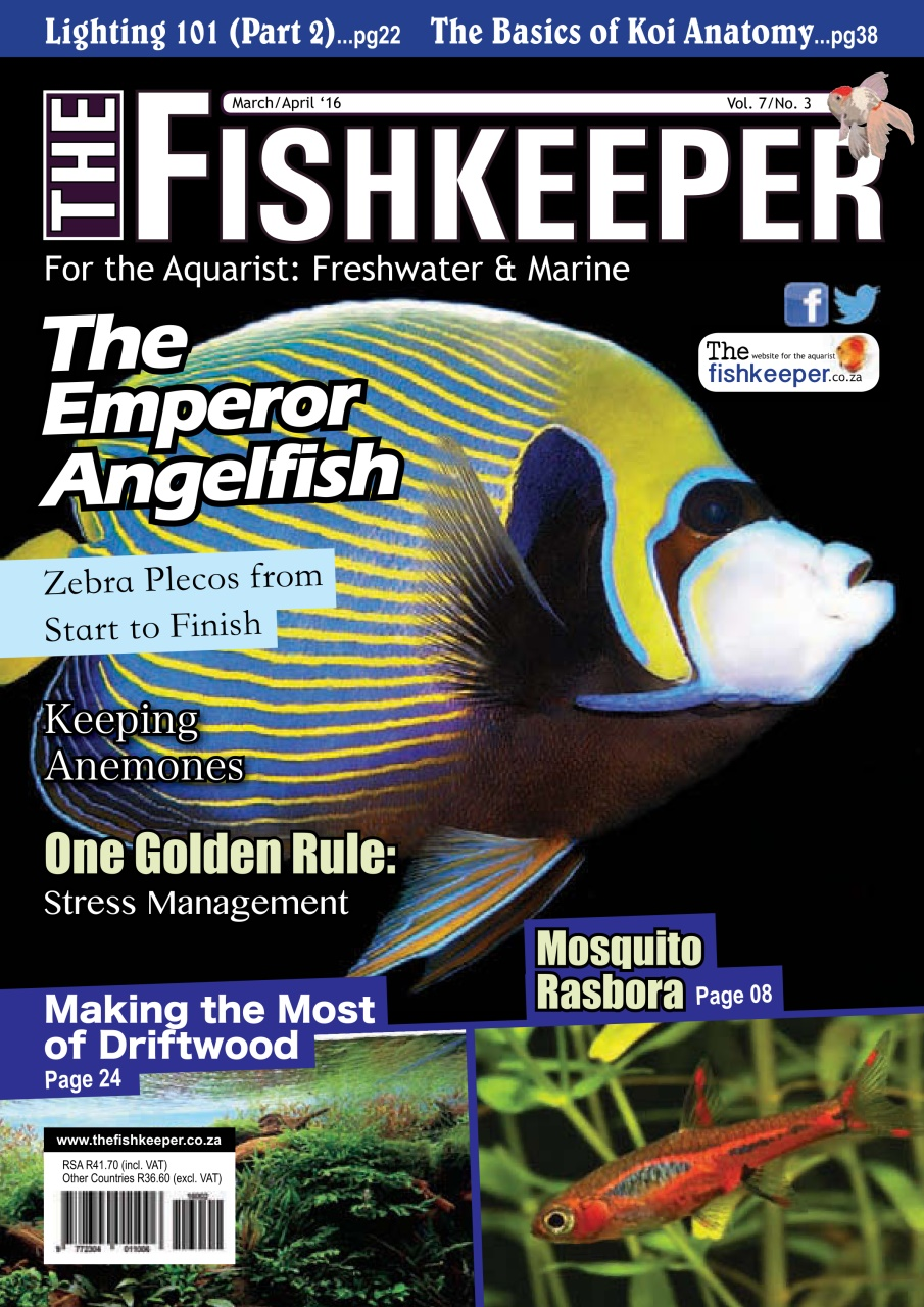 The Fishkeeper Magazine Marchapril 2016 Subscriptions Pocketmags