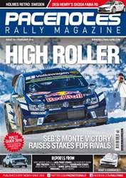 Pacenotes Rally magazine Magazine Cover