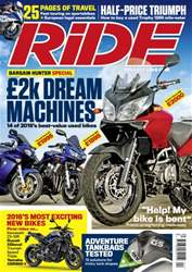 Ride Magazine Cover